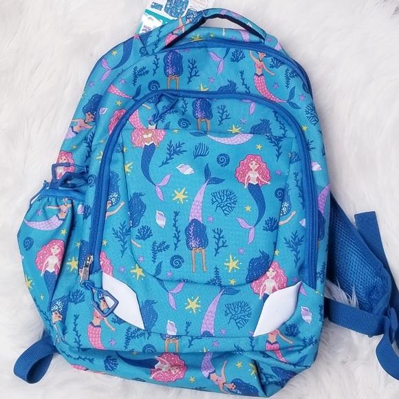 Crickt Handbags - Crickt Blue Mermaid 2 Pc Backpack Set